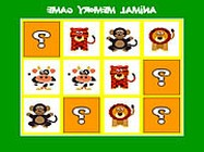 Animal memory game �j j�t�kok